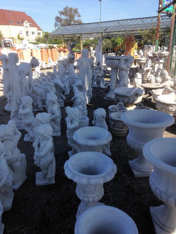 décoration jardin statues sujet pierre reconstitué animaux ...